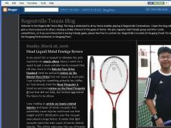 Regentville Tennis Blog